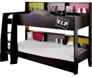 parisot lits superpos s avec espaces de rangement au. Black Bedroom Furniture Sets. Home Design Ideas
