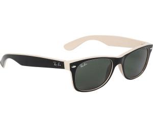 ray ban schwarz weiß sonnenbrille