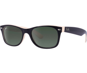 17f7d067c7 Buy Ray-Ban New Wayfarer RB2132 875 (top black on beige green) from ...