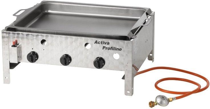 Activa 3-flammiger Gastrobräter mit Pfanne (12540)