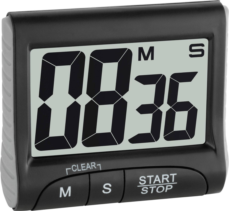 TFA Dostmann Elektronischer Timer und Stoppuhr