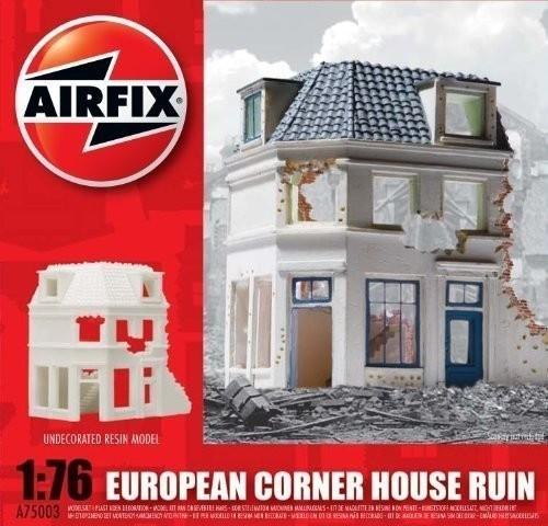 Airfix European Corner House Ruin (A75003)