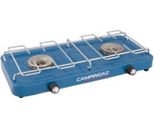 """2-flammig Campingaz /""""Base Camp with Lid/"""" Gaskocher mit Deckel Blau"""