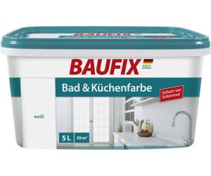 Baufix Bad- & Küchenfarbe 5 l weiß ab 17,99 ...