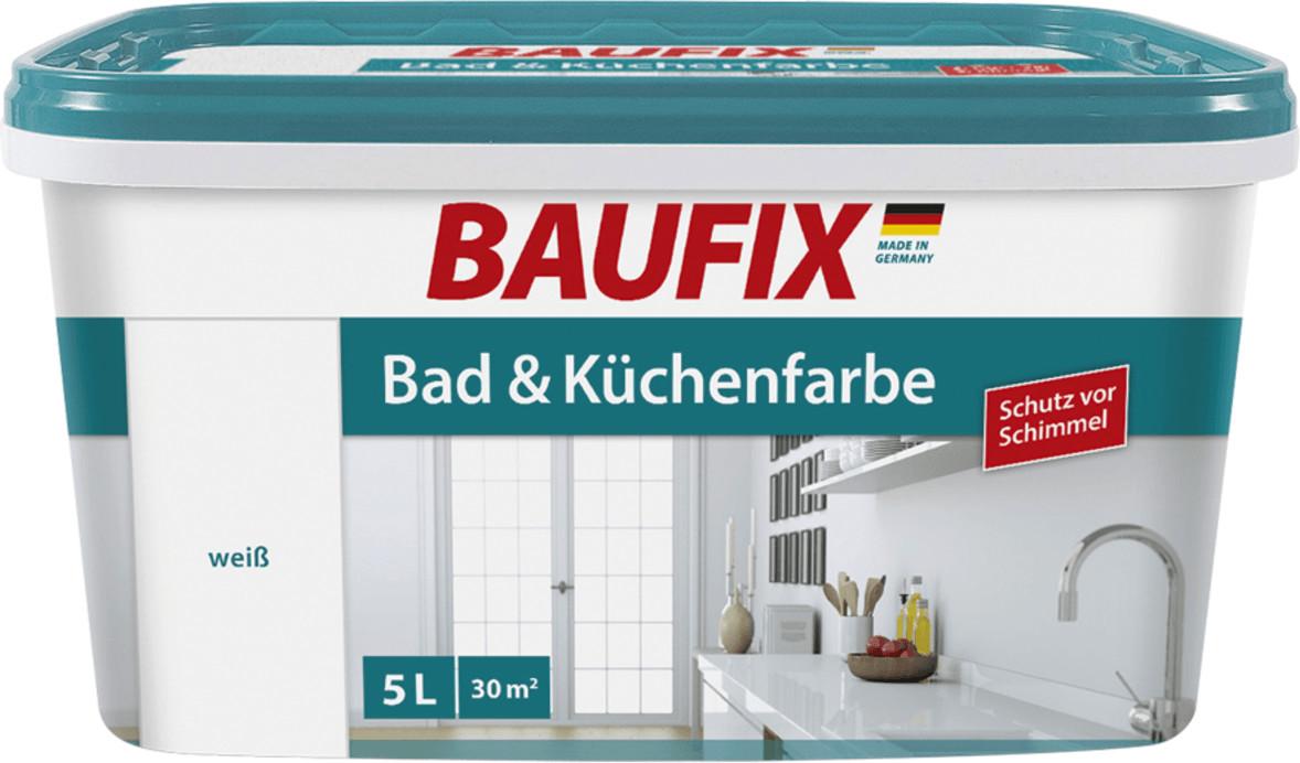 Baufix Bad- & Küchenfarbe 5 l weiß