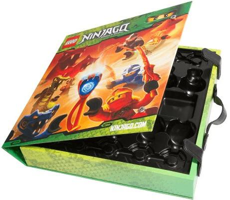 LEGO Ninjago - Boîte de rangement pour toupie (853409)