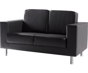 M bel eins susi 2er sofa kunstleder schwarz kunstleder ab for Schlafsofa 3m