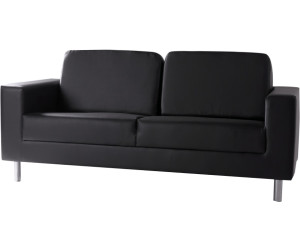m bel eins susi 3er kunstleder sofa wei kunstleder ab 345 45 preisvergleich bei. Black Bedroom Furniture Sets. Home Design Ideas