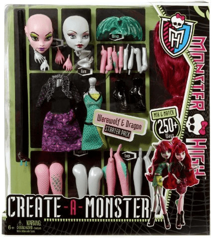 Monster High Monster High Create-a-Monster Werw...