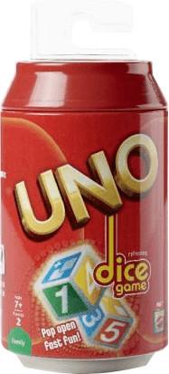 Mattel Uno Dice Game (englisch)