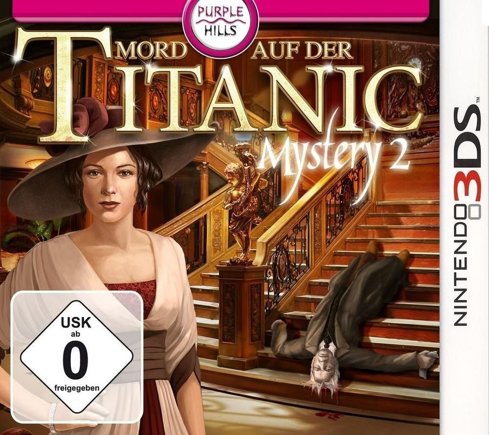 Titanic Mystery 2: Mord auf der Titanic (3DS)