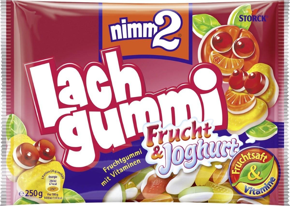 Nimm 2 Lachgummi Frucht & Joghurt (250 g)