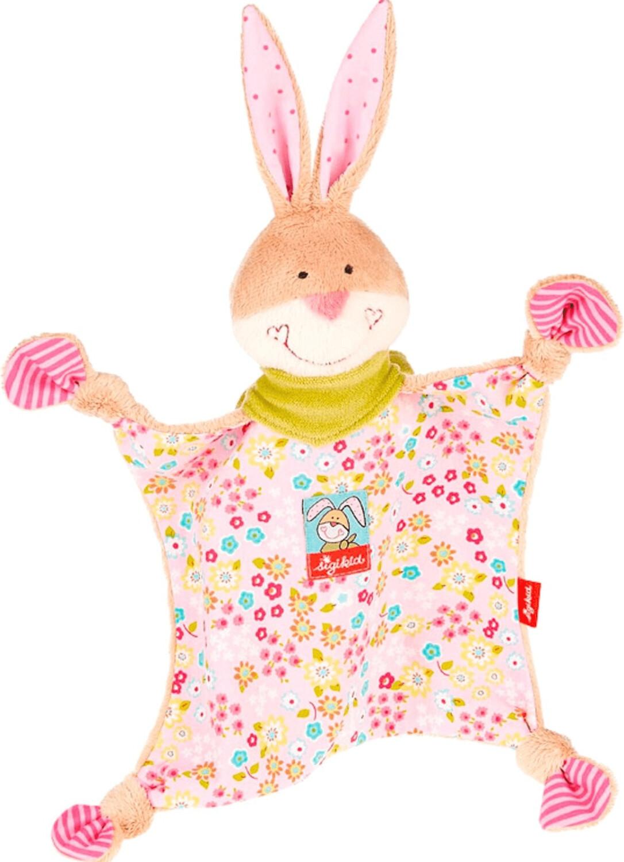 Sigikid Bungee Bunny - Schnuffeltuch groß 26 cm