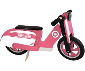 Kiddi moto Scooter rosa con Stripe