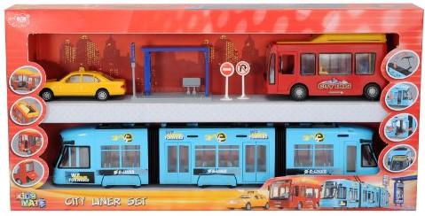 Dickie City Liner - Straßenbahn + Stadtbus + Ta...