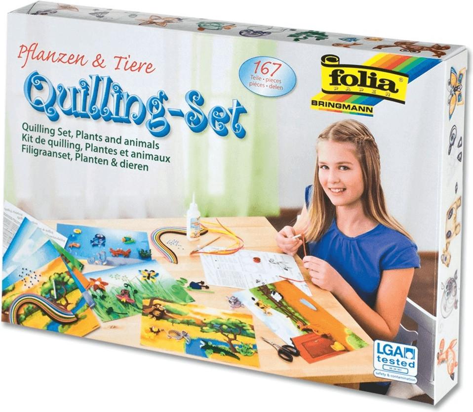 Folia Quilling-Set Tiere & Pflanzen