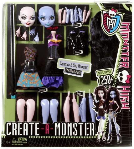 Monster High Monster High Create-a-Monster Vamp...