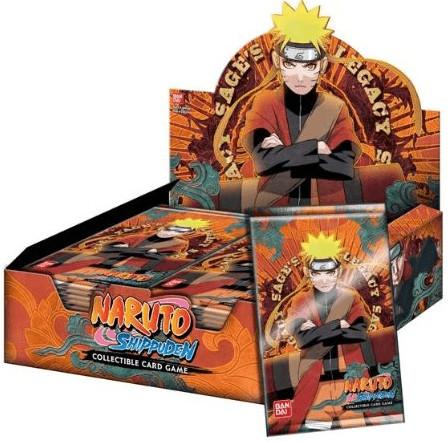 Bandai Naruto Shippuden - Sage´s Legacy Booster...