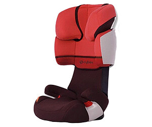 Auto-kindersitze Cybex Solution X-fix Kindersitz Rot Rumba Red Baby