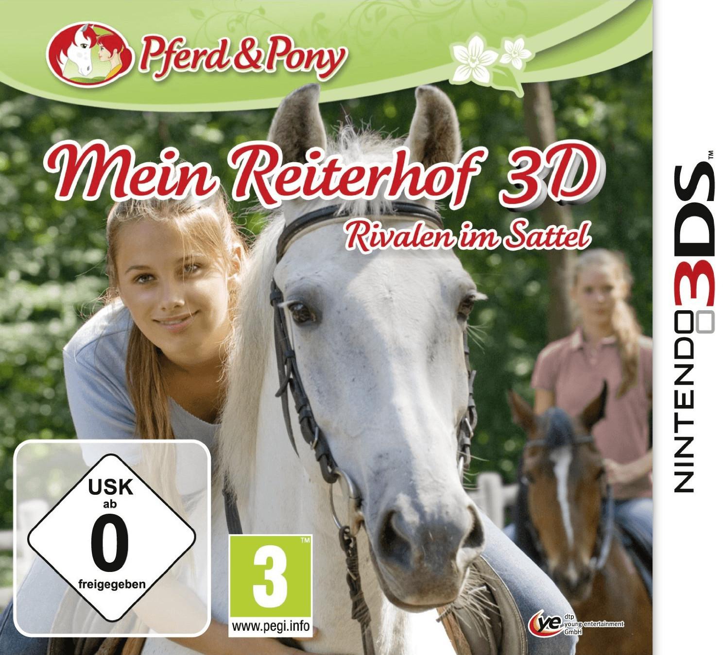 Mein Reiterhof 3D: Rivalen im Sattel (3DS)