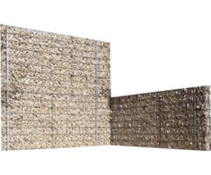 bellissa steinzaun set 200 x 12 x 90 cm ab 199 00. Black Bedroom Furniture Sets. Home Design Ideas