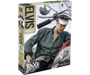 Image of Aquarius Jigsaw Puzzles Music stars - Elvis Presley: Bike (1000 pieces)