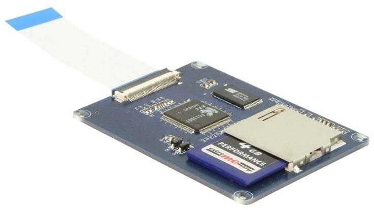 DeLock Konverter ZIF > Secure Digital Card (61707)