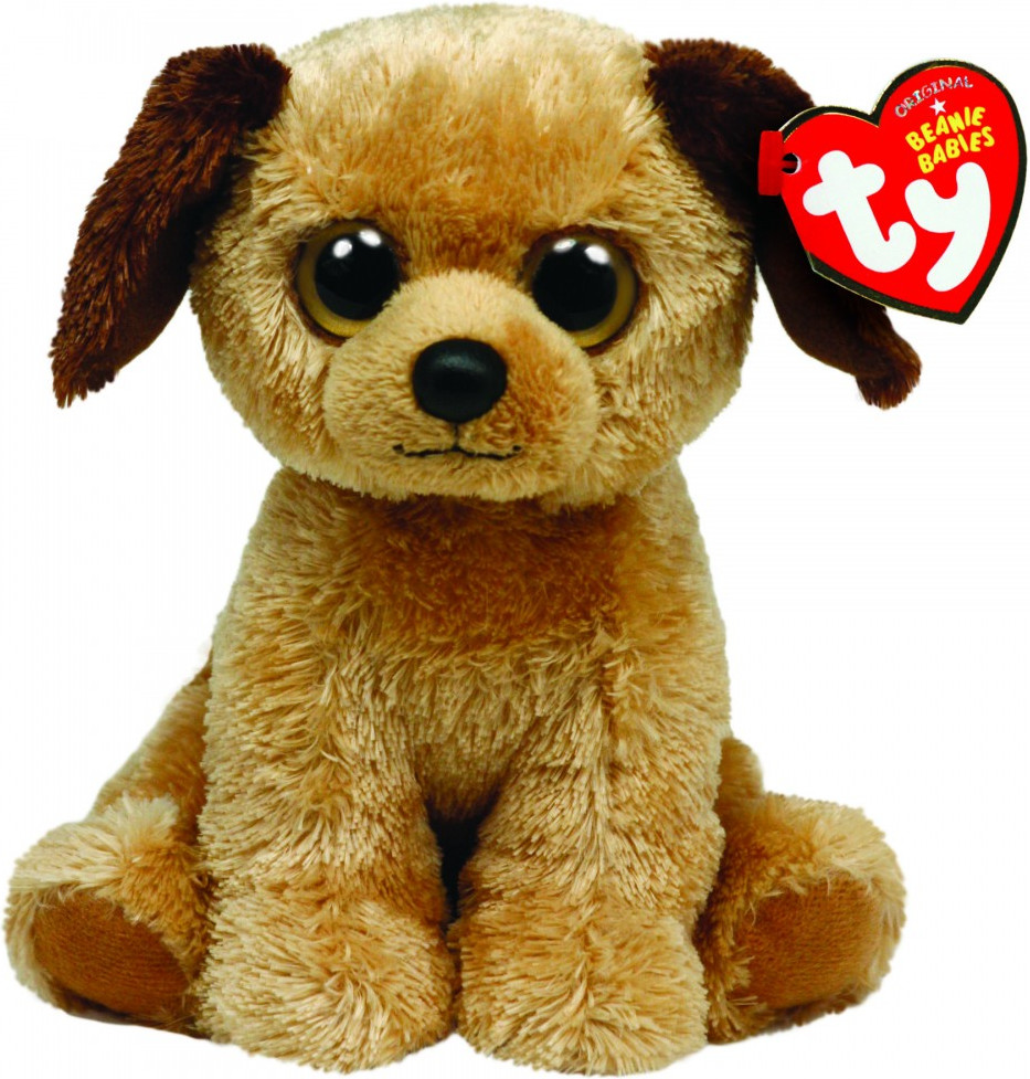 Ty Beanie Babies - Hund Houston 15 cm