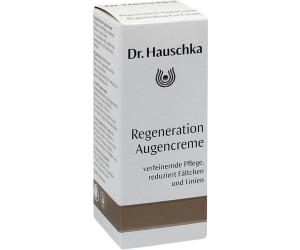 dr hauschka regeneration augencreme 15ml ab 31 50. Black Bedroom Furniture Sets. Home Design Ideas
