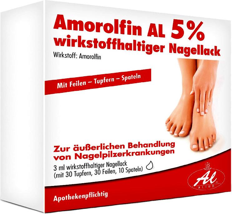 Amorolfin AL 5% Nagellack (5 ml)