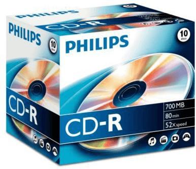 Philips CD-R 700MB 80min 52x 10er Jewelcase