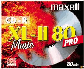 Maxell CD-R Audio 700MB 80min 1er Jewelcase
