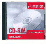 Imation CD-RW 700MB 80min 4x 10er Jewelcase