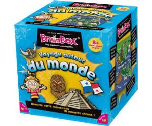Image of Asmodée Brain Box Voyage autour du monde (French)