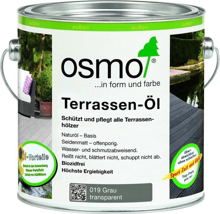 Osmo Terrassen-Öl grau 2,5 l