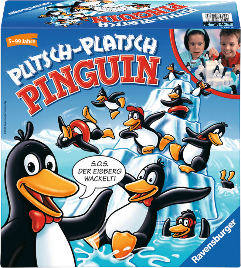 Ravensburger Plitsch-Platsch Pinguin(21288)