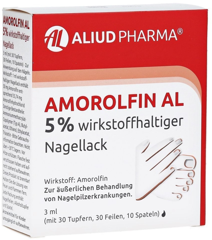 Amorolfin Al 5 % Nagellack (3 ml)