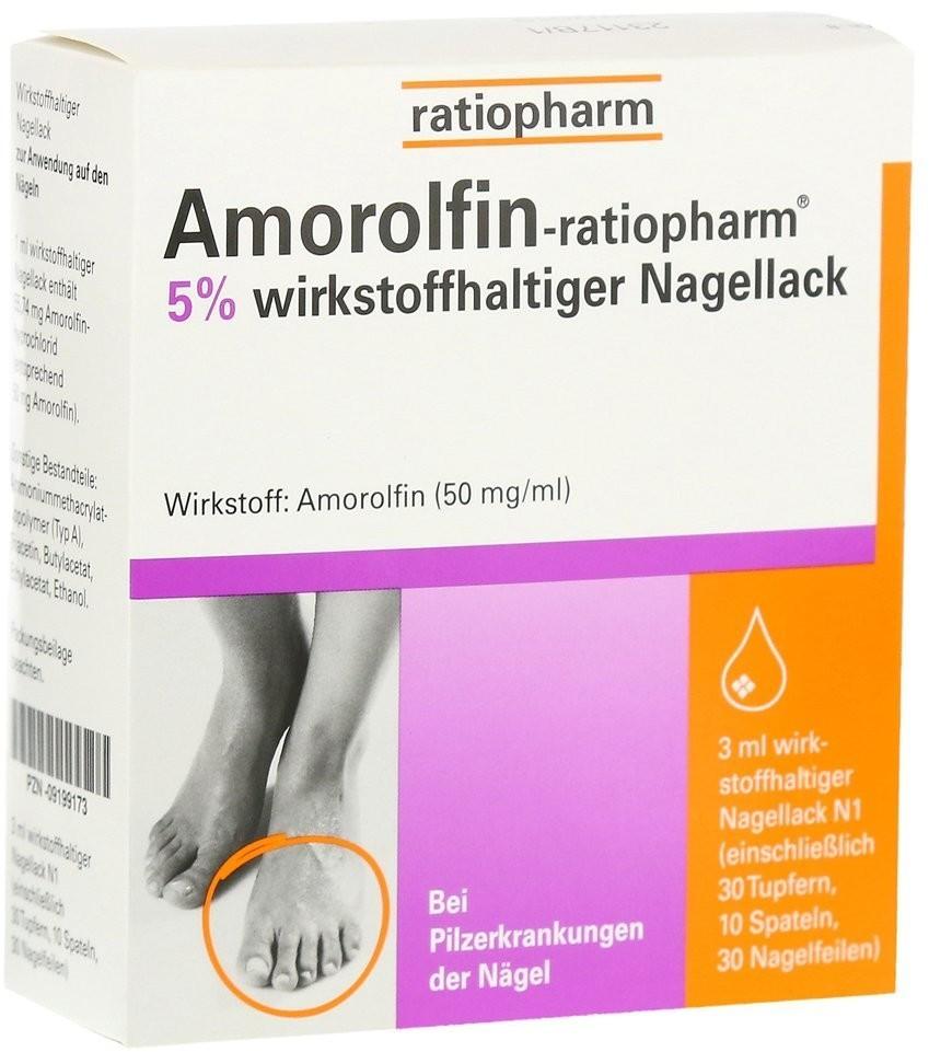 Amorolfin 5 % Nagellack (3 ml)
