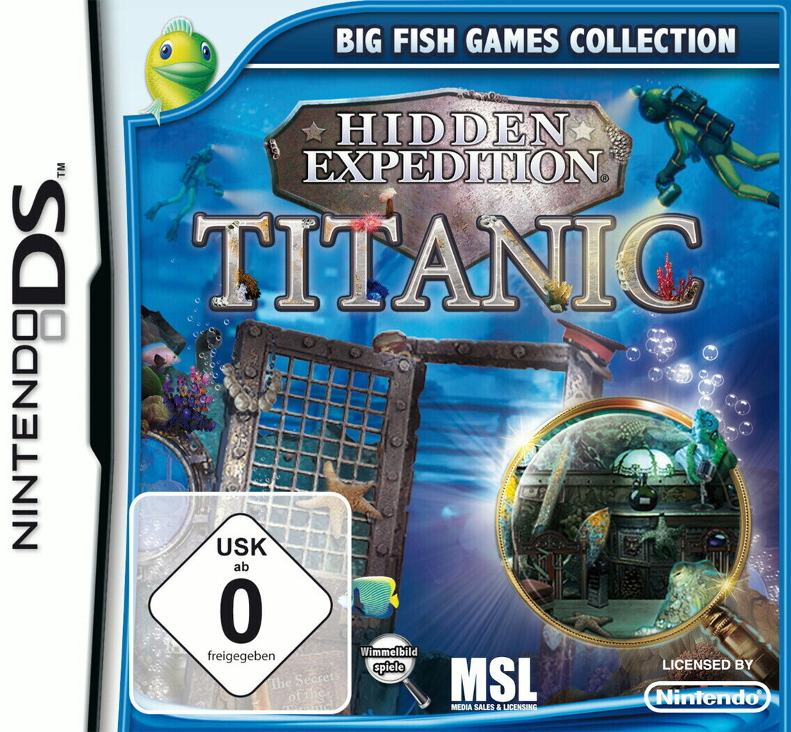 Hidden Expedition: Titanic (DS)