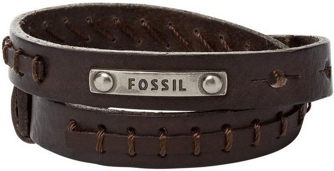 Fossil Wickellederband (JF87354)
