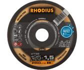 Rhodius Trennscheiben XT24 125 x 1,5 x 22,23 mm  # 205911