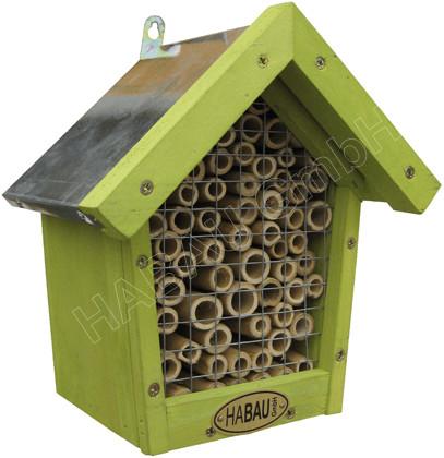 Habau Bienen-Insektenhotel mit Bambus (3012)