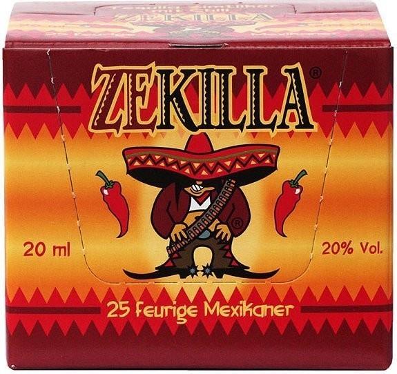 Zekilla 25 x 0,02l 20%