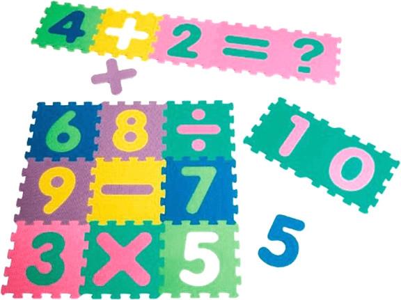 Playshoes EVA-Puzzlematten 16-teilig (308745)