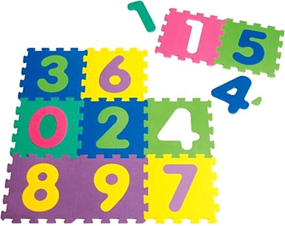 Playshoes EVA-Puzzlematten 10-teilig