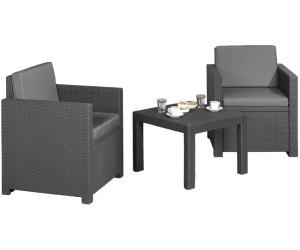 Jardin Victoria Lounge-Gruppe 3-tlg. (Polyrattan) ab 139,95 ...