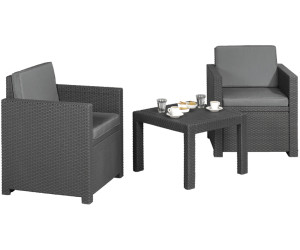 Jardin Victoria Lounge-Gruppe 3-tlg. (Polyrattan) ab 149,00 ...