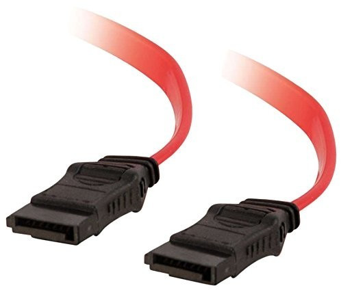 C2G Serial ATA-Kabel - Serial ATA, 7-polig - Serial ATA, 7-polig - 1 m - Translucent Red (81819)