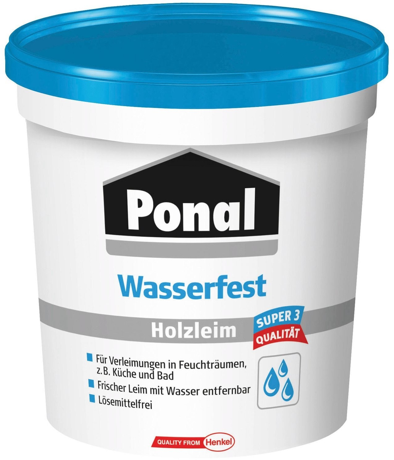 Ponal wasserfest 760g