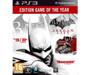 Batman: Arkham City - Édition jeu de l'année (PS3)